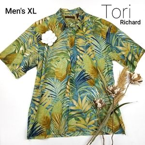 Tori Richards - New Hawaiian Short Sleeve Shirt XL